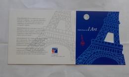 Timbres - Souvenir Philatélique Chef D'Oeuvre D'Art - Philex-France 99 Avec La Carte - 20.00 Fr (valeur 3.05 €) - Markenheftchen