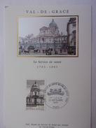 FRANCE CARTE MAXIMUM 1993 YVERT 2830 VAL DE GRÁSE - Maximumkaarten