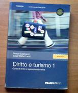 Diritto E Turismo 1   -  Capiluppi - Lezzi   -      Editore Tramontana - Diritto Ed Economia