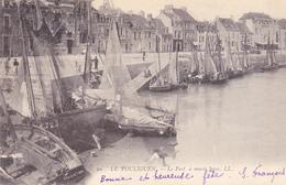44. LE POULIGUEN. CPA. LE PORT A MARÉE BASSE . ANNÉE 1905 - Le Pouliguen