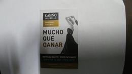 Casino Card MARBELLA-mucho Que Ganar - Casinokarten