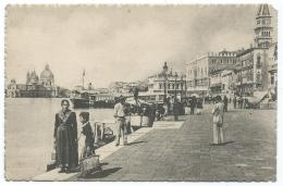 CPSM ANIMEE VENISE, VENEZIA, ANIMATION, RIVA DAGLI SOHIAVONI, ITALIE - Venezia