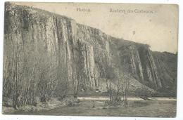 CPA HOTTON, ROCHERS DES CORBEAUX, PROVINCE DE LUXEMBOURG, BELGIQUE - Hotton