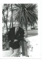 PHOTO DE PRESSE CHARLES TRENET, TEMOINS SUR FR3 EN 1987 - Berühmtheiten