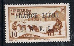 SAINT-PIERRE-ET-MIQUELON N°250 N**  FRANCE LIBRE - Neufs