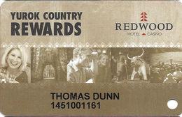 Redwood Casino - Klamath, CA - Slot Card - Casino Cards