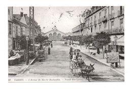 65 - TARBES . L'Avenue Du Marché Rauhauban . Façade Rue Larrey . Reproduction - Réf. N°6714 - - Tarbes