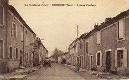 81)  DOURGNE    -  Avenue D' Arfons - Dourgne