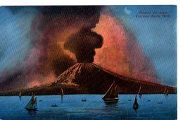 Vesuvio Dal Mare Eruzione Aprile 1906 - Napoli - Napoli