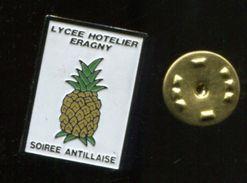 Pin's - Lycée Hotelier ERAGNY Ananas Soirée Antillaise - Other
