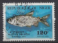 Niger 1984  Fish: Boubon`s Tetra (o) - Niger (1960-...)