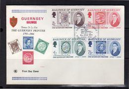 FDC 1971 Thomas De La Rue (7) - Guernsey