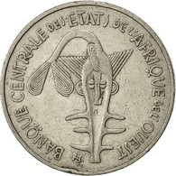 West African States, 100 Francs, 1980, TB+, Nickel, KM:4 - Ivory Coast