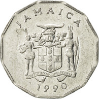 Jamaica, Elizabeth II, Cent, 1990, British Royal Mint, TTB+, Aluminium, KM:64 - Jamaique