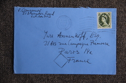 Lettre De GRANDE BRETAGNE ( LONDRES ) Vers FRANCE - 1952-.... (Elizabeth II)