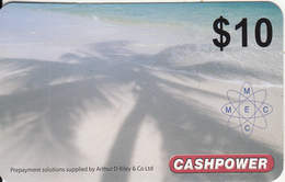 MARSHALL ISLANDS - Cashpower By M.E.C. Prepaid Card $10, Used - Marshall