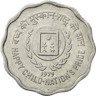 INDIA-REPUBLIC, 10 Paise, 1979, SUP, Aluminium, KM:33 - Inde