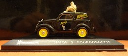 "Voiture - Simca 5 Fourgonnette ""Michelin"" - 1/43 (bibendum) - Cars & 4-wheels"