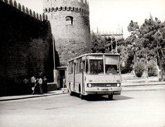 Photo Originale Autocar & Excursion Avec Car Russe Laz Russe Z 60 - Auto's