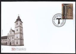 Croatia Zagreb 2009 / 350 Years Of The Franciscans In Cakovec / FDC - Kroatien