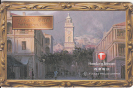 HONG KONG(chip) - Pedder Street 1865, HKT Smartcard $100, Exp.date 30/11/99, Used - Hong Kong
