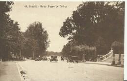 Madrid - Retiro - Paseo De Coches - 2 Scans - Madrid