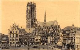 MECHELEN - Grote Markt Met Zicht Op Sint-Romboutstoren - Mechelen