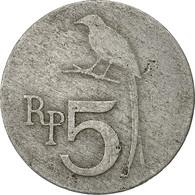 Indonésie, 5 Rupiah, 1970, TB+, Aluminium, KM:22 - Indonesia
