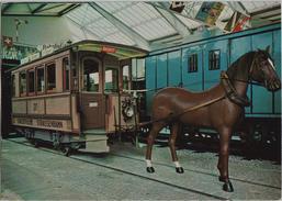Verkehrshaus Der Schweiz Luzern - Pferdestrassenbahn Von Zürich 1882 - LU Lucerne
