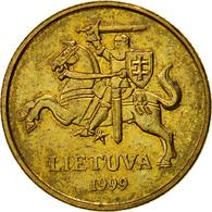 Lithuania, 20 Centu, 1999, TTB+, Nickel-brass, KM:107 - Lithuania