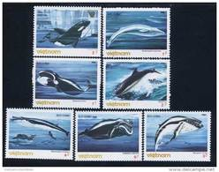 Vietnam Viet Nam MNH Perf Stamps 1985 : Whales / Whale (Ms478) - Fishes