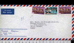 C2082 NIGERIA Postal History 1981 YANKARI GAME RESERVE VACCINE (m) - Nigeria (1961-...)
