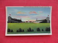 Stadium & Field House University Of Nebraska  Lincoln   Ref 2767 - Cartes Postales