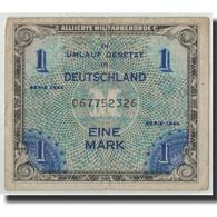 Billet, Allemagne, 1 Mark, 1944, KM:192a, TB - [ 5] 1945-1949 : Bezetting Door De Geallieerden