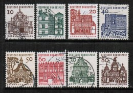 GERMANY  Scott # 903-12 VF USED - [7] Federal Republic
