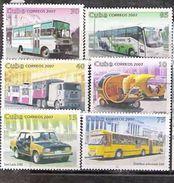 3174  Buses - Cars -  2007 - No Gum - 1,25 - Bus