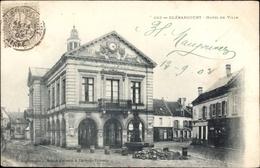 Cp Blérancourt Aisne, Hotel De Ville, Ansicht Vom Rathaus - France