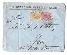 Lettre De Roumanie DU 27 MARS 1907 DE  BUCAREST Vers Wassy ? ) - 1881-1918: Charles I