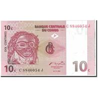 Billet, Congo Democratic Republic, 10 Centimes, 1997, 1997-11-01, KM:82a, NEUF - Congo