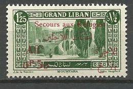 GRAND LIBAN N° 67 NEUF* TRACE DE   CHARNIERE TTB / MH - Great Lebanon (1924-1945)