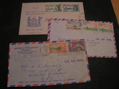 3  GB Kolonien  Briefe - Briefmarken
