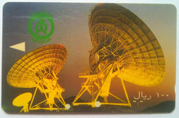 SAUDE 100 Ritals  Satellite Dish - Saudi Arabia