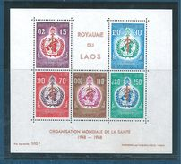 Bloc Du Laos De 1968 N°42  Neuf ** Parfait - Laos