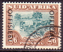 SOUTH AFRICA 1950 SG #O48 2sh6d Official Used 19mm Between The Lines Of Opt. - South Africa (...-1961)