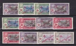 Inde N°198* à 209* - India (1892-1954)
