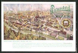AK Plzen / Pilsen, Mestansky Pivovar V Pluzni, Zal. 1842, Brauerei - Tchéquie