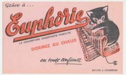 Buvard 20.7 X 12.4 EUPHORIE La Couverture (électrique) Chauffante  Chaton - Textile & Clothing