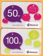 Moldova Moldavie Moldau Used 50+100  Telephone Card - Moldavie