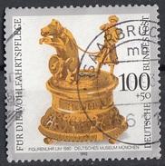 Germania 1992 Sc. B737 Antique Clocks - Antichi Orologi Germany Used - Orologeria