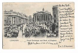 Royal  Exchange  And   Bank Of England  - 1904 - Autres